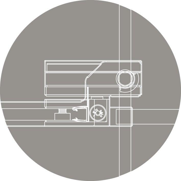 Шторка на ванну Cezares SLIDER-A-VF-11-90/145-C-Cr