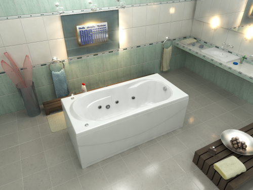 Акриловая ванна Bas Ахин