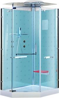 Душевая кабина LanMeng 857R Blue