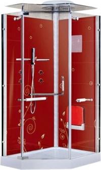 Душевая кабина LanMeng 856R Red