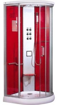Душевая кабина LanMeng 833G Red