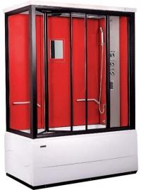 Душевая кабина LanMeng 838TG Red