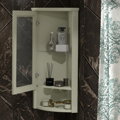 Мебель для ванной комнаты Opadiris Клио 45 Слоновая кость